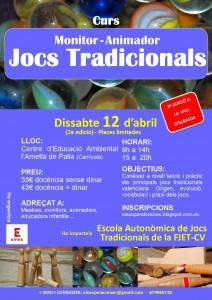 cartell jocs tradicionals 12 abril